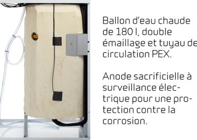 Compact P - Ballon d%u2019eau chaude de 180 l