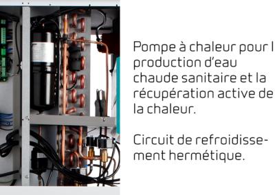 Compact P - Pompe à chaleur pour la production