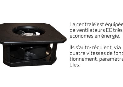 Comfort CT150 - ventilateurs EC