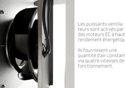 Comfort CT300_Les puissants ventilateurs