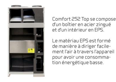 FR-6 Comfort 252 Top - acier zingue
