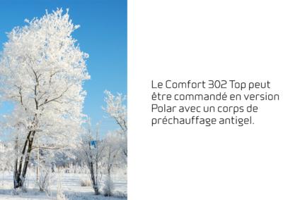 FR-9 Comfort 302 Top - version Polar