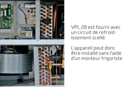 FR-VPL 28 - lukket kølekreds