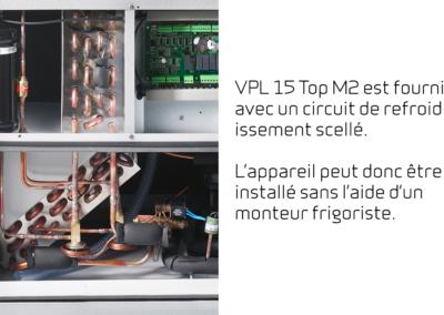 VPL 15 Top M2 - Circuit de refroidissement