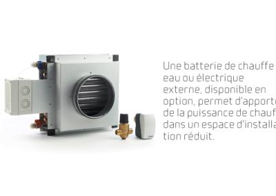 VPL 15 - batterie de chauffe à eau ou électrique