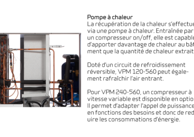 VPM 120-560 - Pompe à chaleur