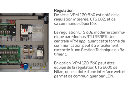 VPM 120-560 - Régulation