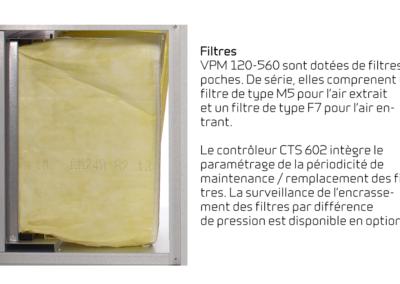 VPM 120-560 - filtres